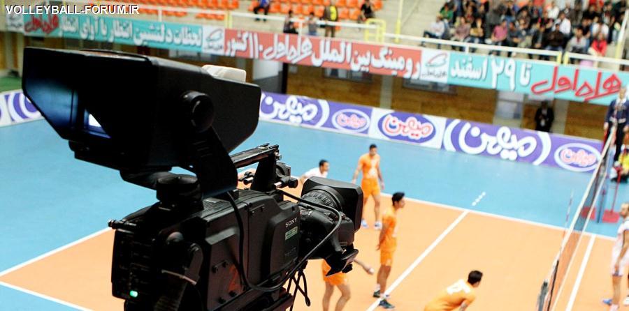 فینال لیگ برتر والیبال /پخش زنده ی دیدار کاله مازندران-متین ورامین از شبکه ی 3 سیما