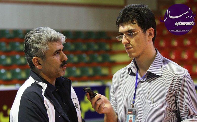 مربی تیم والیبال شهرداری تبریز: از حیثیت والیبال تبریز در لیگ برتر دفاع خواهیم کرد !