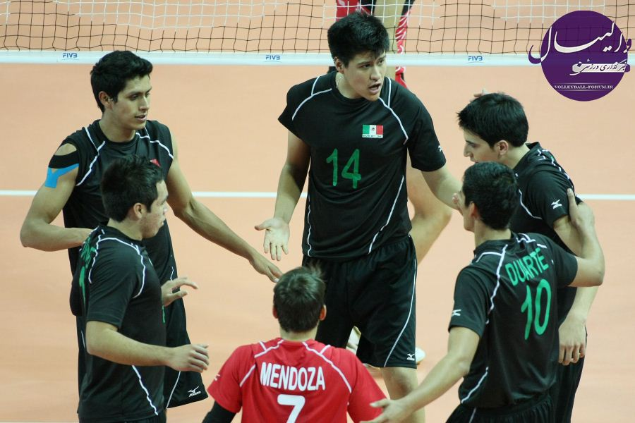 آشنایی با مکزیک چهارمین حریف ملی پوشان جوان والیبالیست !