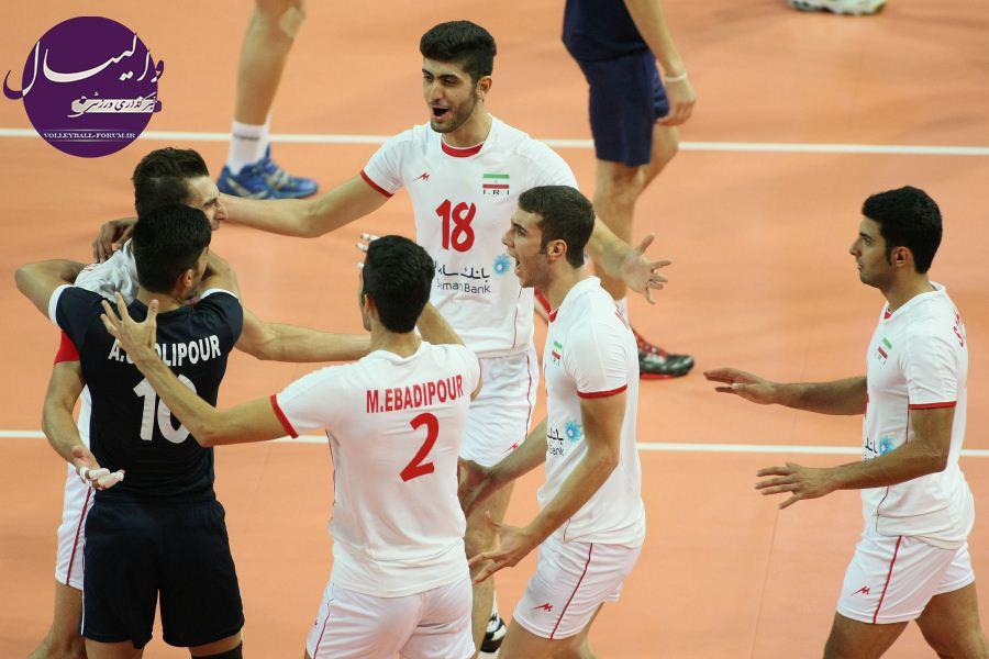 جدول رده بندی سومین روز مسابقات والیبال جوانان جهان /ایران صدرنشین ماند !