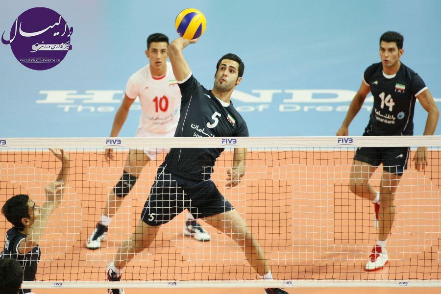گزارش تصویری از دیدار تیم ملی والیبال جوانان ایران و ژاپن !