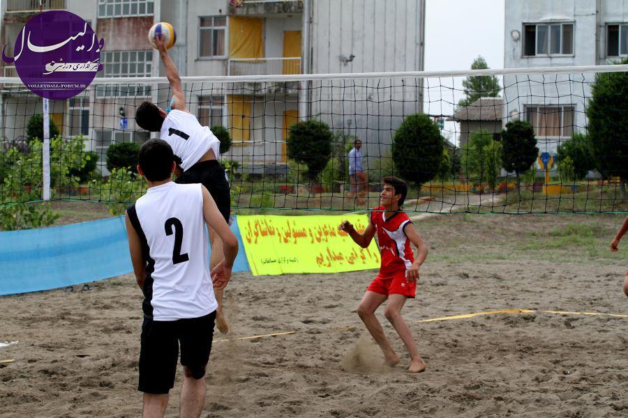 استقبال دور از انتظار از رقابت های نوجوانان و جوانان والیبال ساحلی/حضور فعال گنبدی ها !