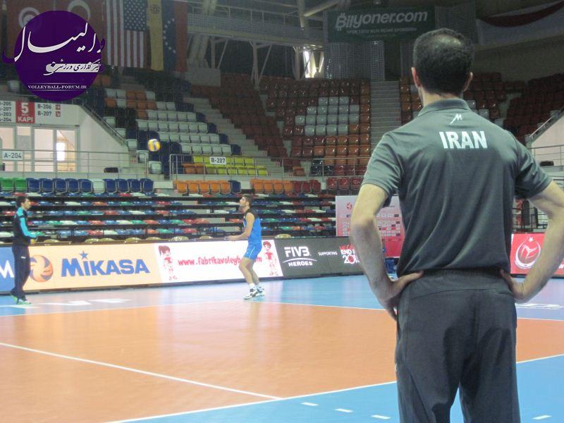 آخرین تمرین تیم ملی والیبال جوانان ایران پیش از شروع مسابقات جهانی !