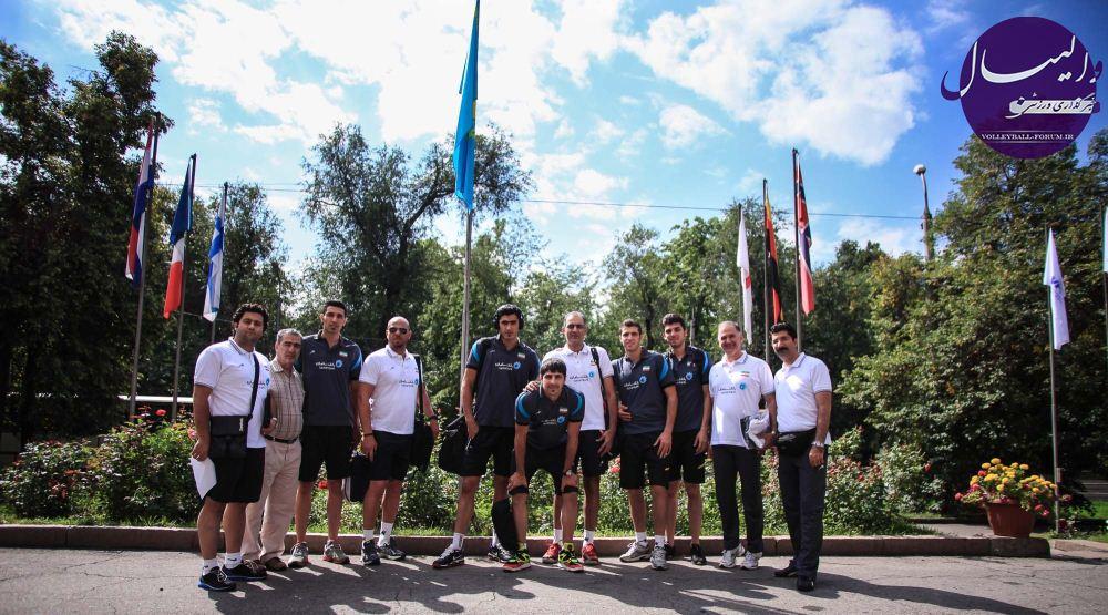 آغاز دیدارهای تیم ملی والیبال زیر 23 در قزاقستان/اکبری:با هدف شناسائی نقاط ضعف ها به قزاقستان آمدیم