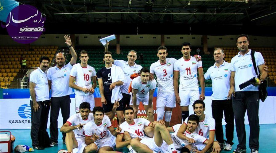 قطر نیز مغلوب تیم ملی والیبال زیر 23 سال ایران شد !