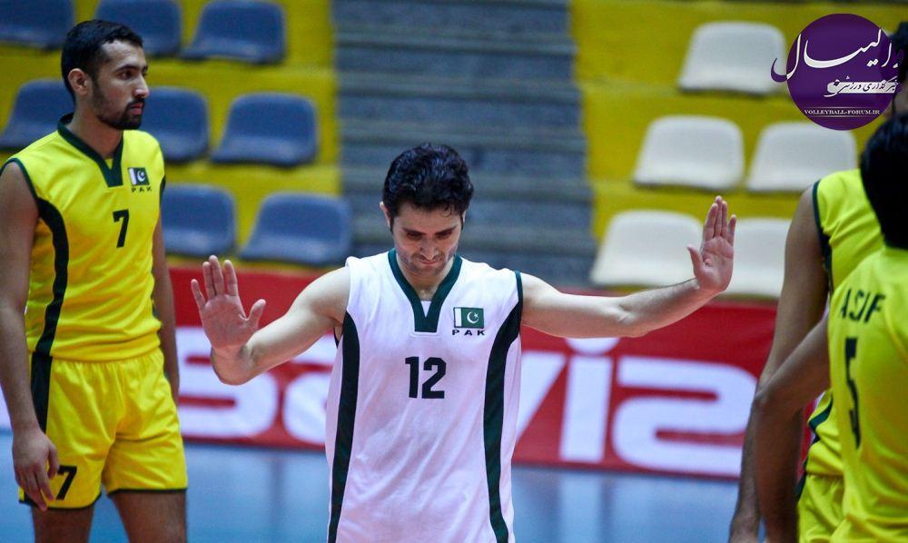 جريمه کنفدراسیون والیبال آسیا و تجديد نظر پاكستان !