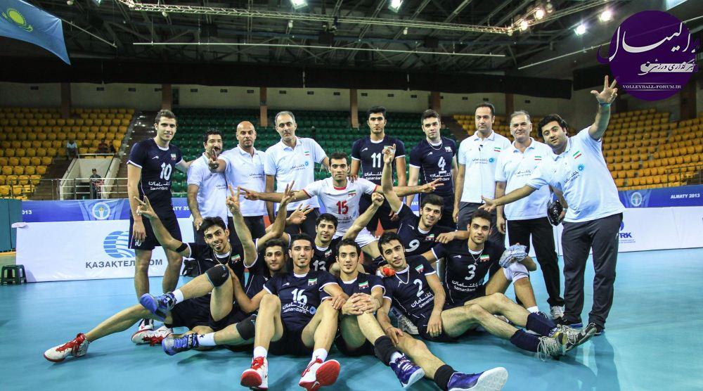 قهرمانی تیم ملی امید والیبال ایران با غلبه بر روس ها !