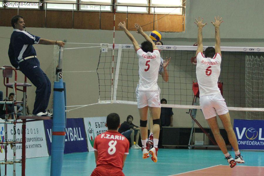 گزارش تصویری از دومین دیدار دوستانه تیم ملی و بلغارستان !