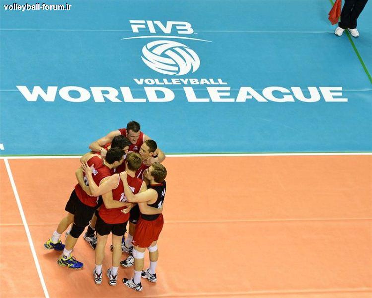 لیگ جهانی والیبال : كانادا هم با پیروزی مسابقات را آغاز كرد !
