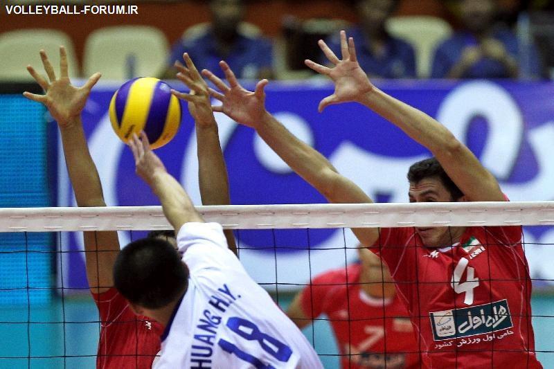 مرحله نهایی لیگ دسته یک والیبال نشسته/تیم مشهدی برابر نماینده گنبد شکست خورد