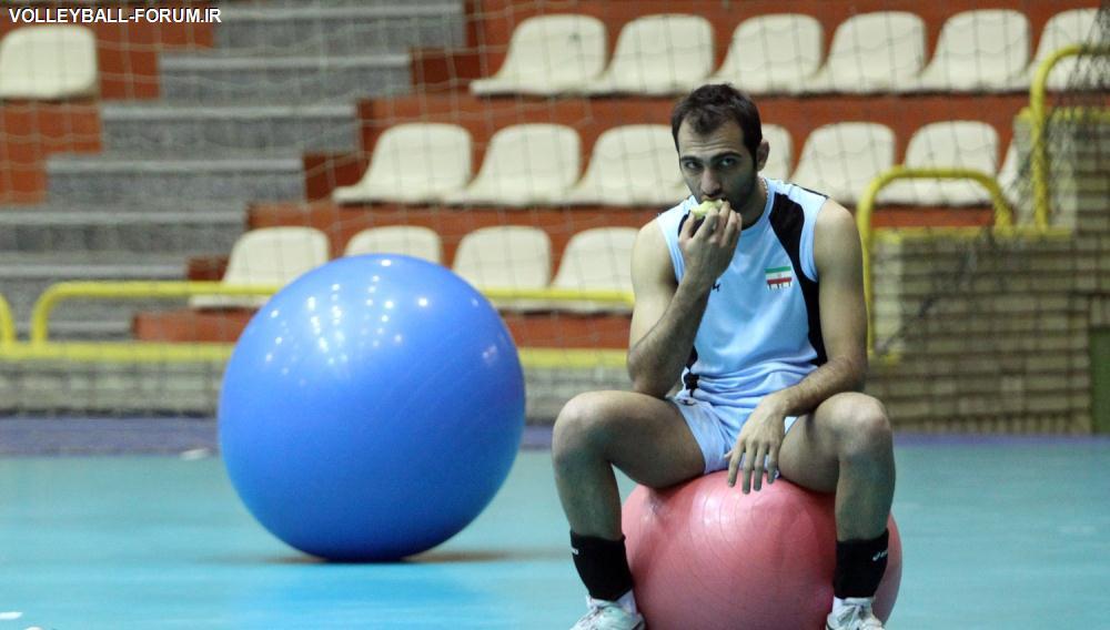 علی سجادی :میخواهم در ترکیب ثابت تیم ملی قرار بگیرم !