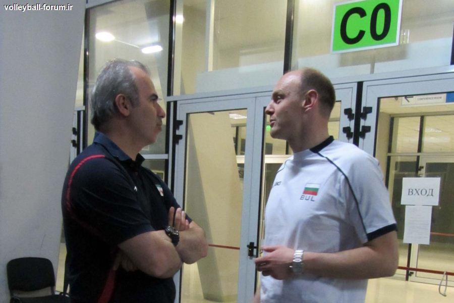 کاروان والیبال ایران به بلغارستان رسید !