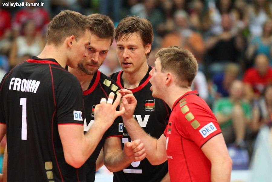 تیم ملی والیبال آلمان بامداد چهارشنبه وارد تهران می شود