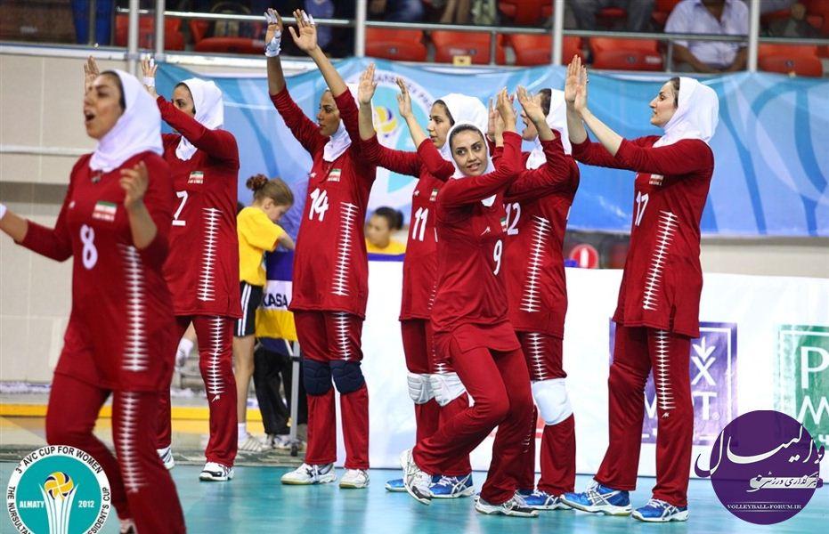 برنامه ی بازی های تیم ملی والیبال بانوان/پرافتخارترین تیم آسیا حریف نخست زنان ایران !
