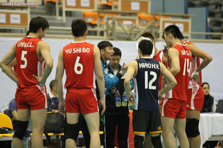 کنفرانس خبری سرمربیان دو تیم بشیریه لبنان و لیونینگ چین بعد از بازی !