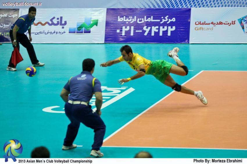 گزارش تصویری از مسابقه کاله ایران - تایوان پاور چین تایپه/جام باشگاه های والیبال آسیا !