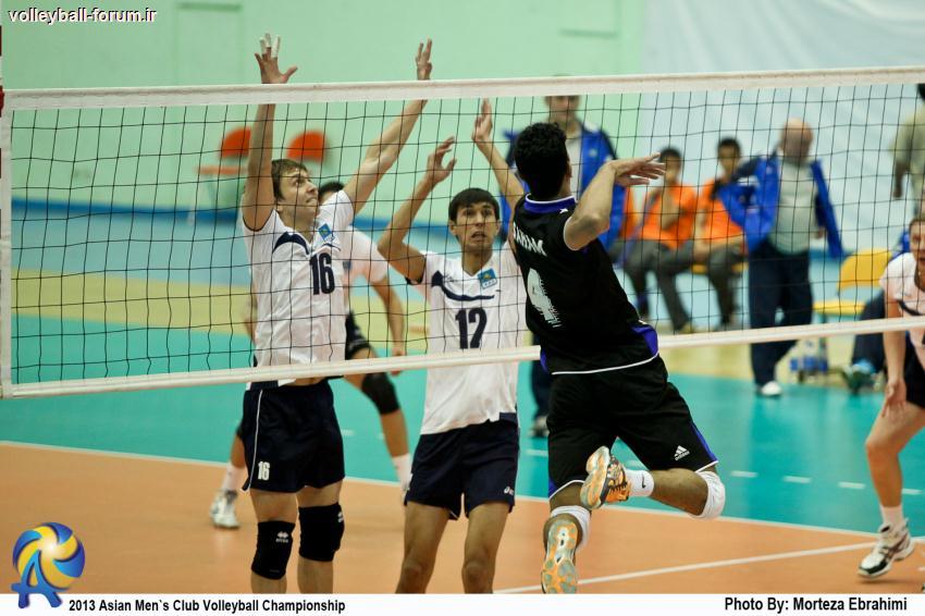 گزارش تصویری از مسابقه آلماتی قزاقستان - سهام عمان/جام باشگاه های والیبال آسیا !