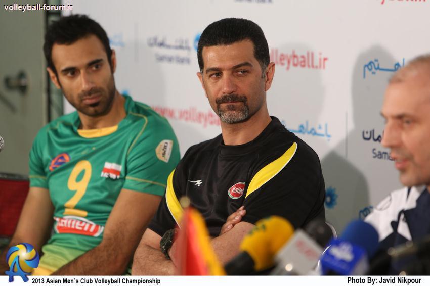 کنفرانس خبری سرمربیان دو تیم کاله ایران و العین امارات بعد از بازی !
