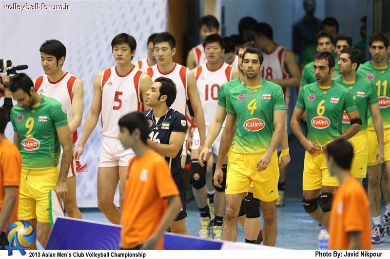 بازیکنان ایران و چین تست دوپینگ دادند !