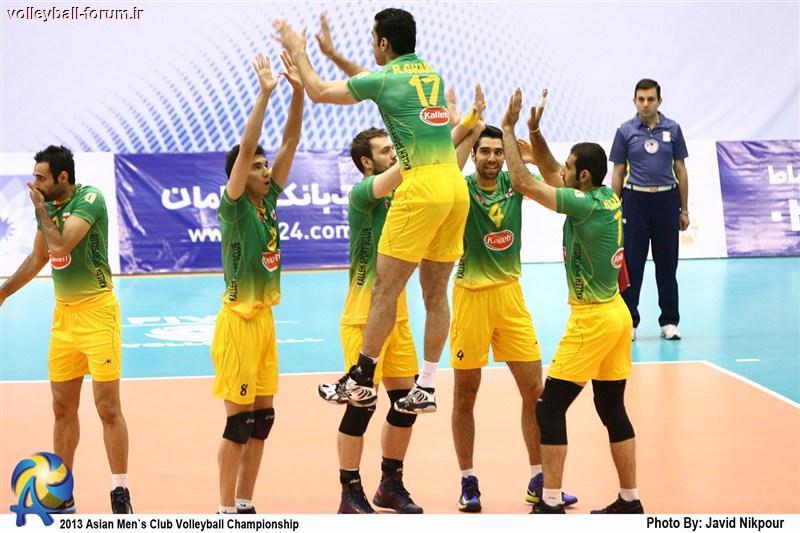 گزارش تصویری از مسابقه کاله ایران - لیونینگ چین/جام باشگاه های والیبال آسیا 2013 !