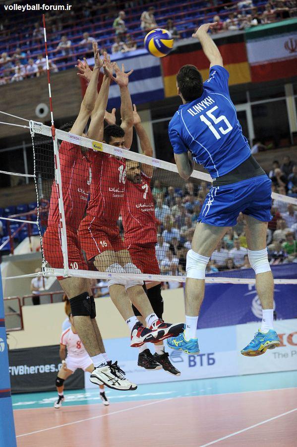 لیگ جهانی 2013 /دومین شکست تیم ملی والیبال ایران برابر قهرمان المپیک !