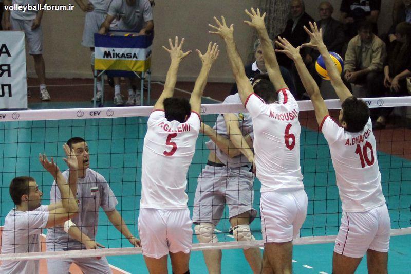 پیروزی نفس گیر بلغار ها در دومین بازی دوستانه مقابل تیم ملی ایران !