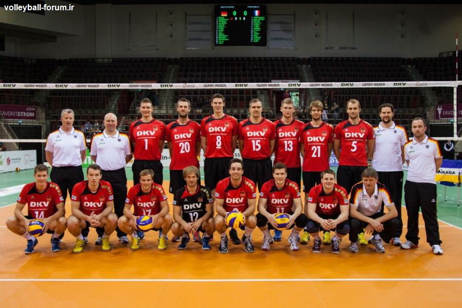 لیگ جهانی 2013 والیبال، آلمان در برابر دارنده مدال برنز المپیک !