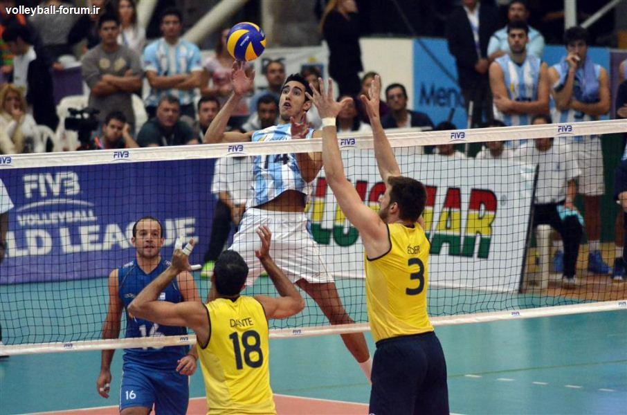 میزبان مرحله نهایی لیگ جهانی والیبال باز هم مغلوب برزیل شد