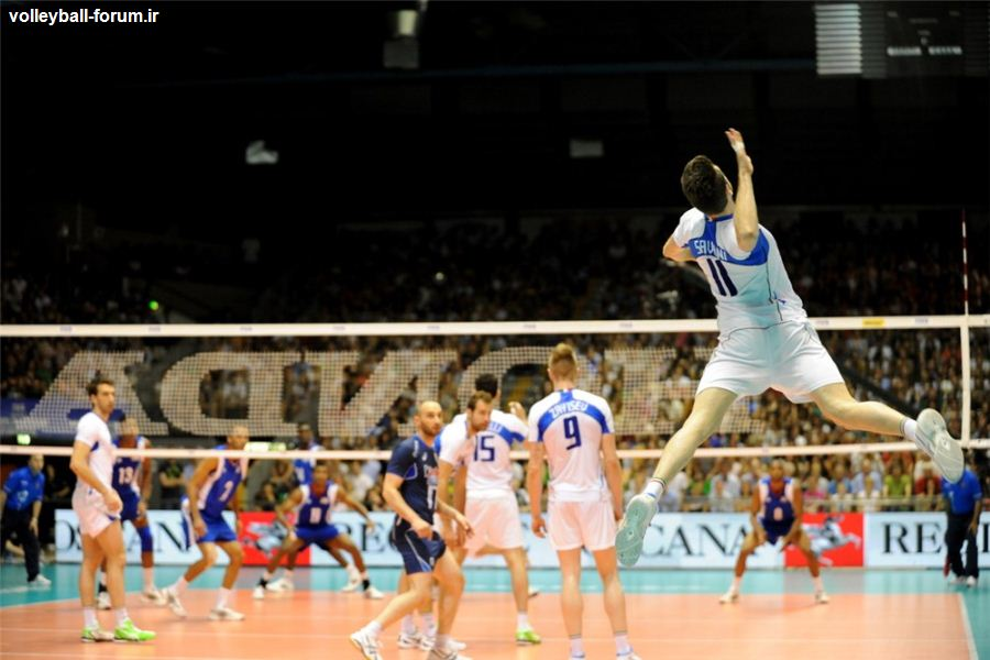 ایتالیا با شکست کوبا در صدر جدول گروه دو قرار گرفت + جدول رده گروه B لیگ جهانی ،تیم ملی در رده 5 !