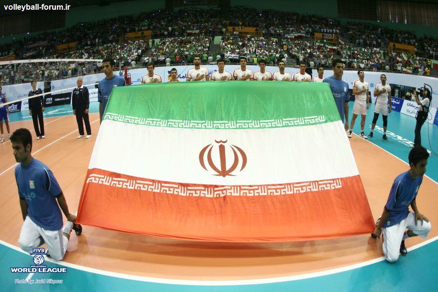 میکزون بازی تیم ملی والیبال ایران و صربستان !