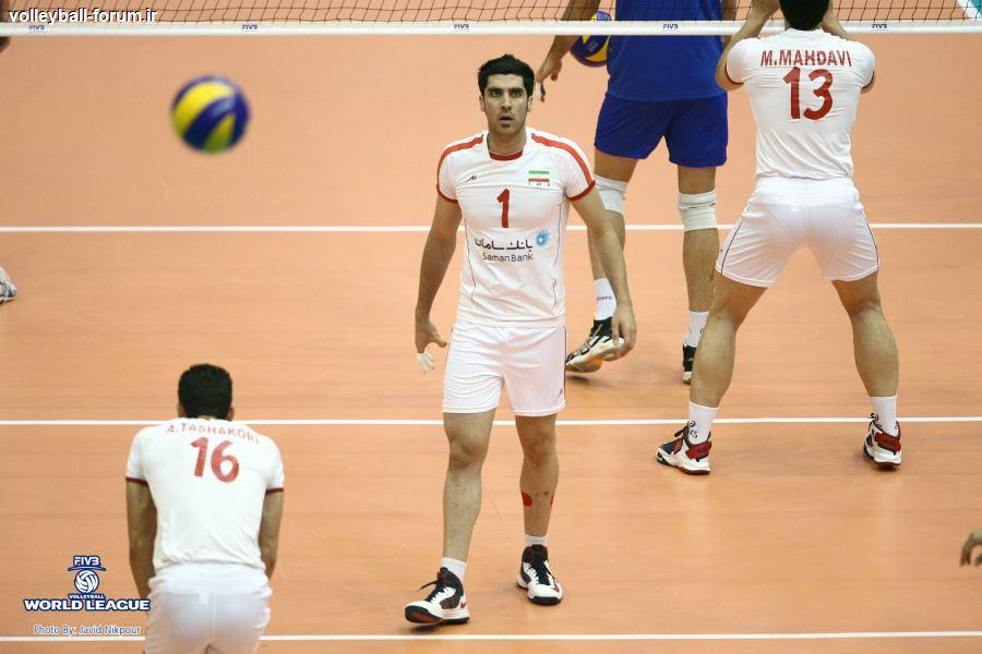 فریادهای ولاسکو نتیجه داد/ ایران از صربستان ست گرفت