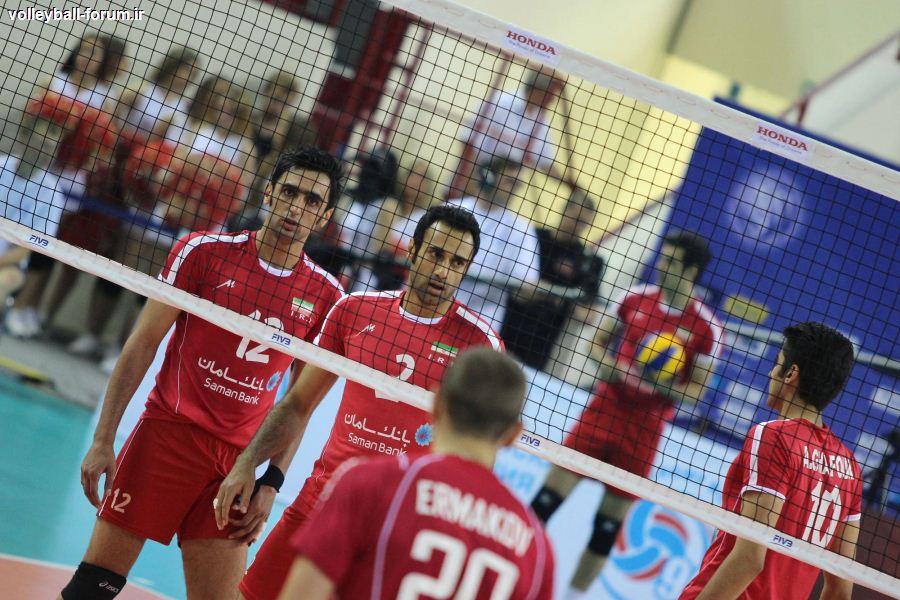 نتیجه زنده بازی تیم ملی والیبال ایران و تیم والیبال صربستان !