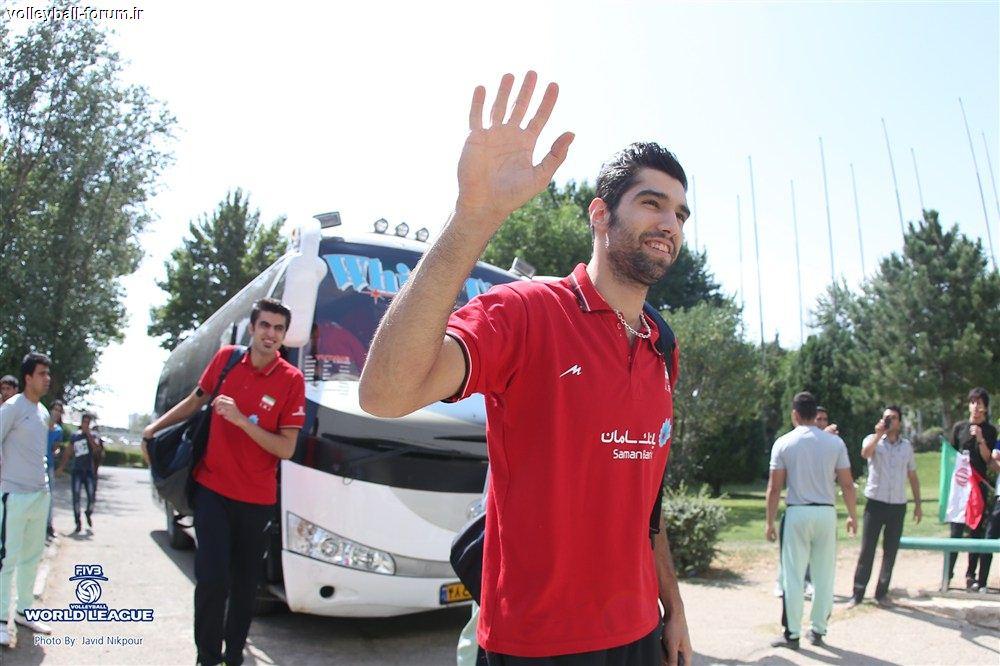 گزارش پزشک تیم ملی والیبال از غفور، محمودی، موسوی و محمد کاظم