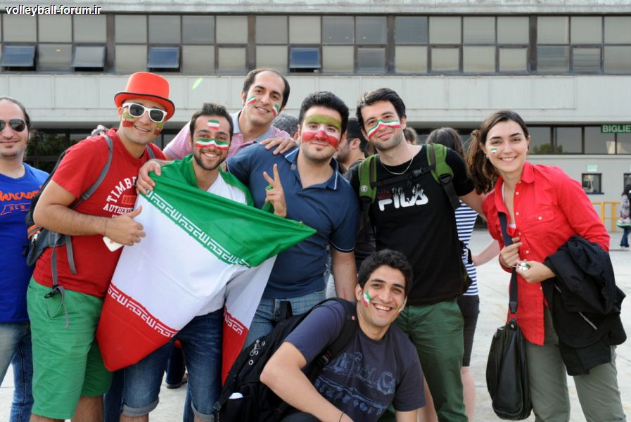 حاشیه های جالب دیدار تیم ملی والیبال ایران و تیم ملی والیبال ایتالیا !/موسوی در صدربهترین مدافعان !