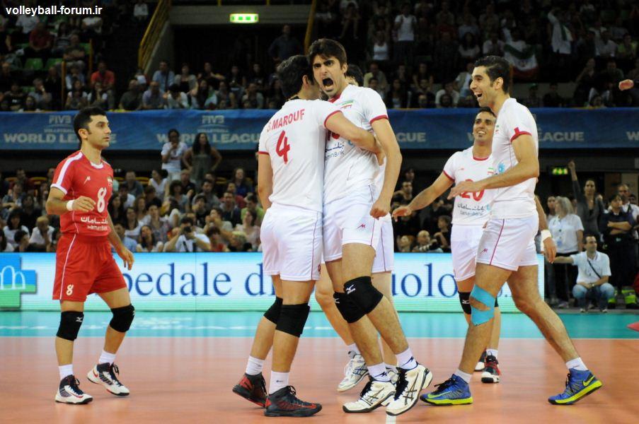 میکس زون دیدار اول تیم ملی والیبال ایران و ایتالیا/ایتالیاییها بعد از باخت مصاحبه نکردند!!