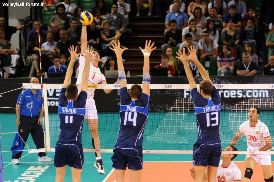 بازتاب پیروزی ایران در رسانههای ایتالیایی/ ایران قدرت جدید والیبال جهان !