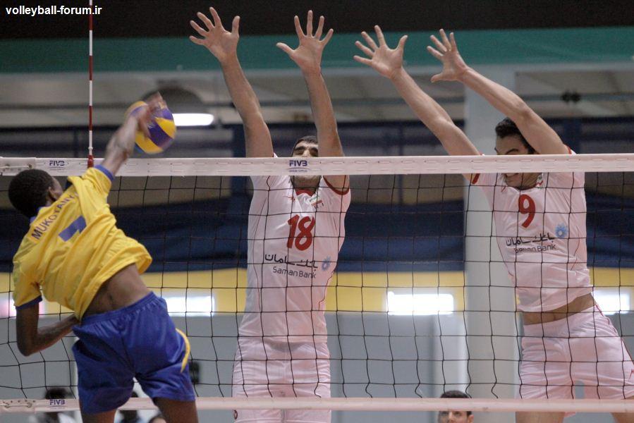 تیم ملی والیبال نوجوانان به عنوان تیم دوم گروه راهی پلی آف شد