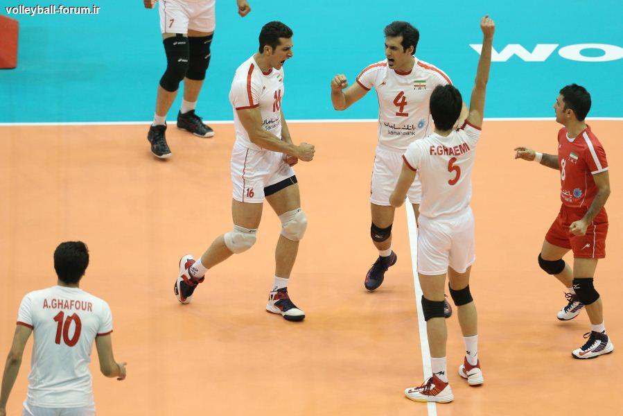 گزارش ست به ست دیدار اول تیم ملی والیبال ایران و ایتالیا/پیروزی قاطع شیرمردان ایران در مودنا ایتالیا !!