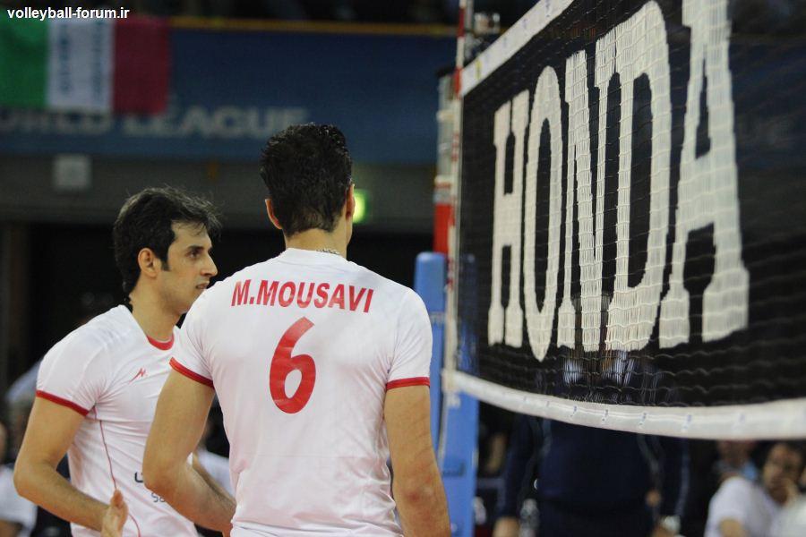 بهترین های لیگ جهانی در پایان هفته ی پنجم /محمد موسوی همچنان در صدر بهترین مدافعان روی تور !