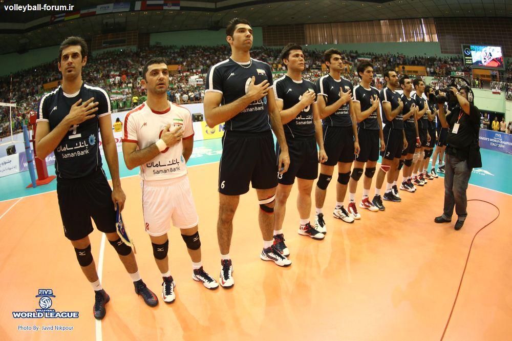 نگاهی به عملکرد تیم ملی والیبال ایران در لیگ جهانی 2013 !