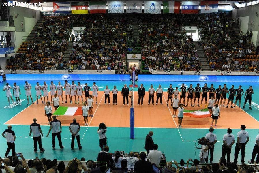 گزارش ست به ست دیدار دوم تیم ملی والیبال ایران و ایتالیا/ایتالیا پیروز ست اول !