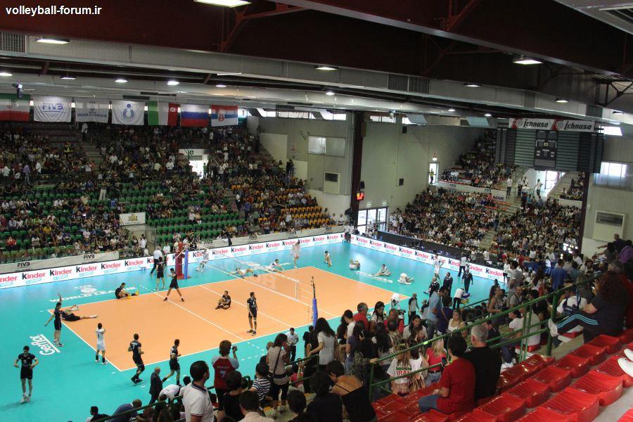 گزارش ست به ست دیدار دوم تیم ملی والیبال ایران و ایتالیا/ایران رویاهای ایتالیا را کم رنگ کرد !