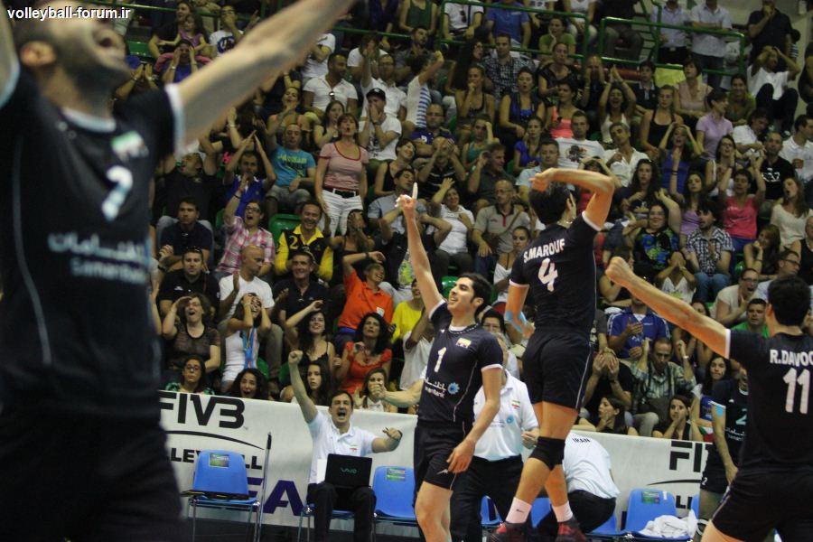 تیم ملی والیبال به هاوانا رسید