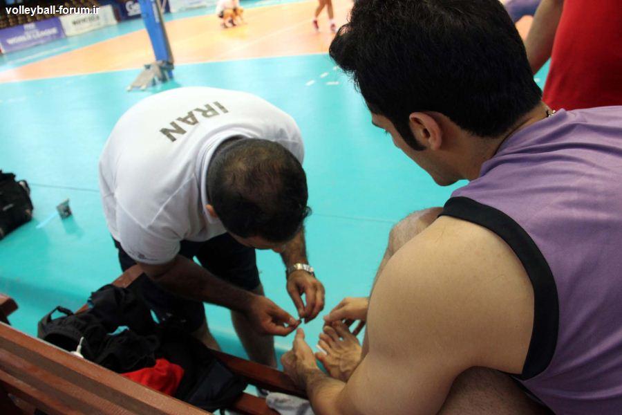 پزشک تیم ملی: به احتمال زیاد کمالوند به بازی با کوبا می رسد