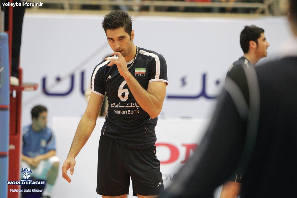 محمد موسوی در صدر بهترین مدافعان روی تور لیگ جهانی تا پایان هفته چهارم!