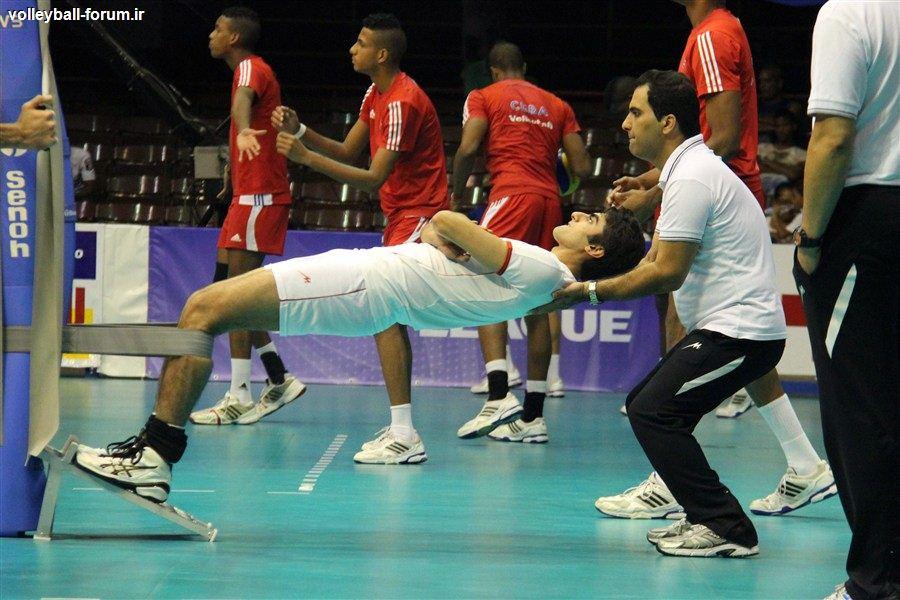 منتخب عکس های دیدار اول تیم ملی والیبال ایران و کوبا !