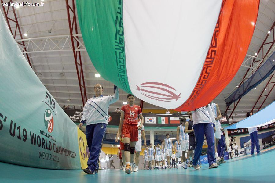 گزارش تصویری از دیدار تیم ملی والیبال نوجوان ایران و آرژانتین /خلق افتخاری دیگر !
