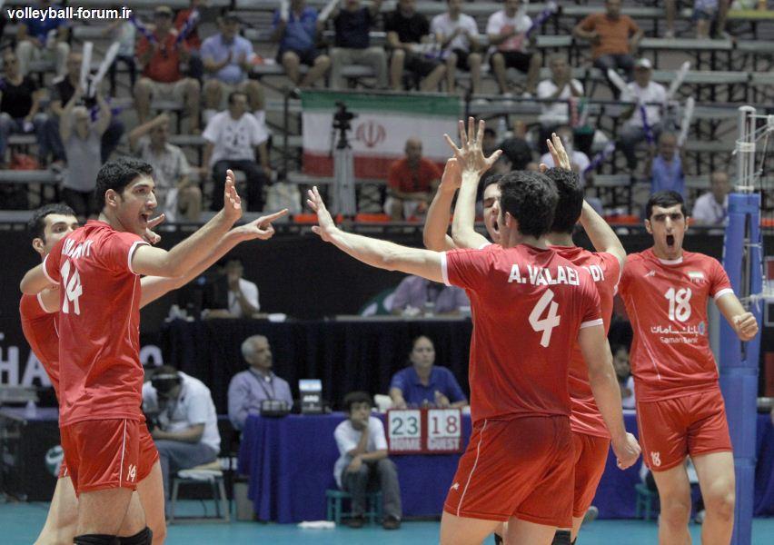 تیم ملی نوجوانان ایران در جمع چهار تیم برتر جهان !