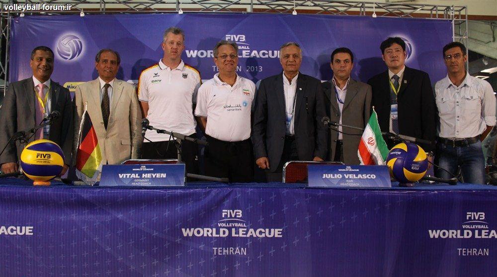 جلسه فنی عمومی دیدار ایران و آلمان برگزار شد