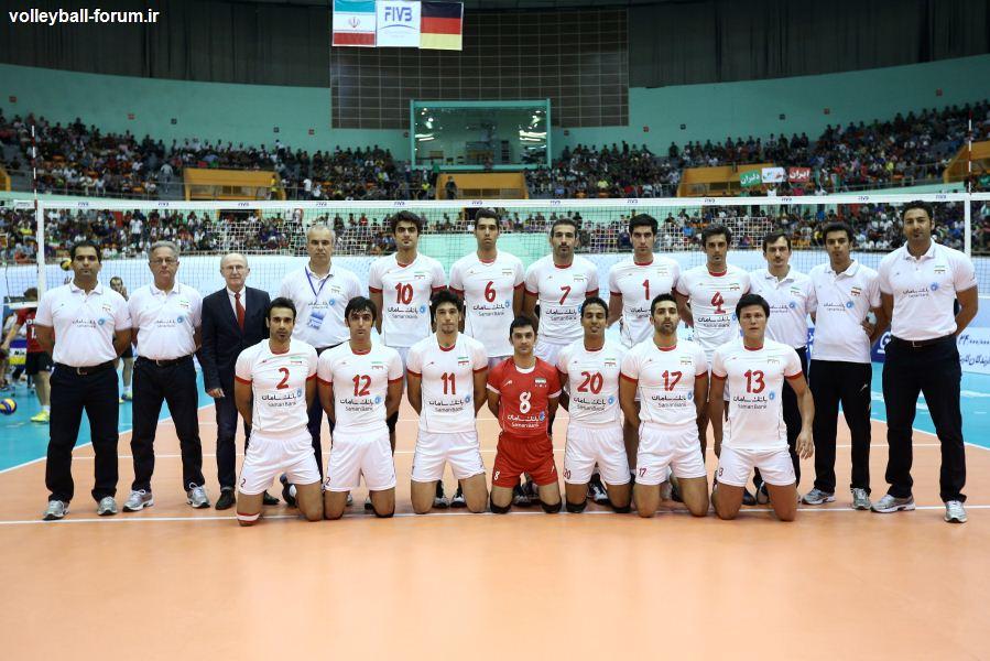 پیروزی تیم 12 هزار نفری ایران در مقابل المان 12 نفری +حواشی این دیدار+جدول گروه B !